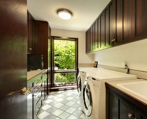 http://www.dreamstime.com/stock-photo-laundry-room-wood-cabinets-white-washer-dryer-image29562980